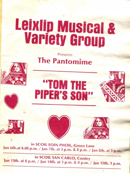 LMVGs Tom The Pipers Son 1989 (12)