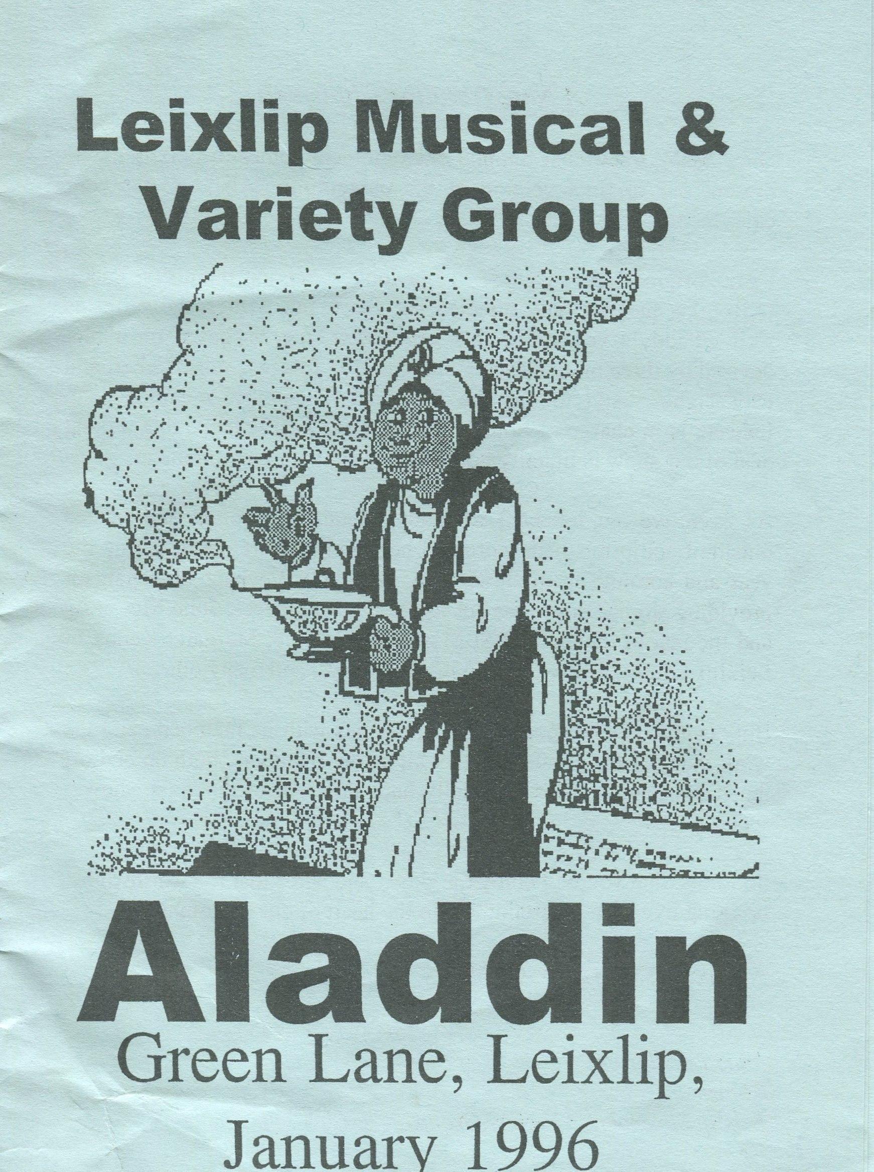 Aladdin, 1996 (www.lmvg.ie)