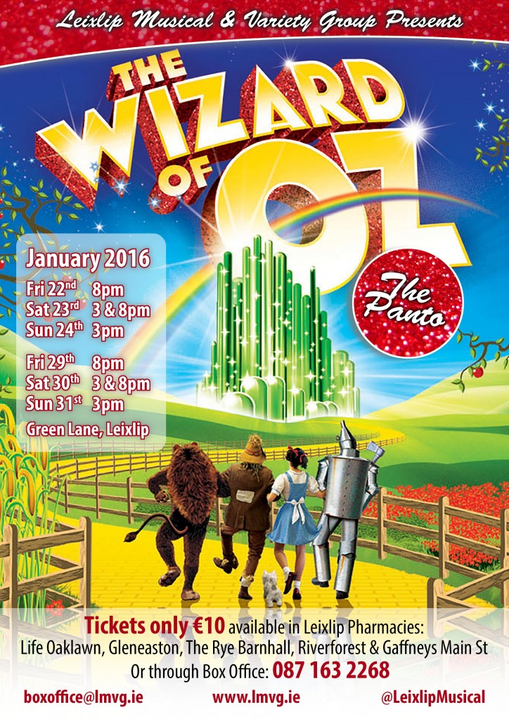 Wizard of Oz Poster (1MB)